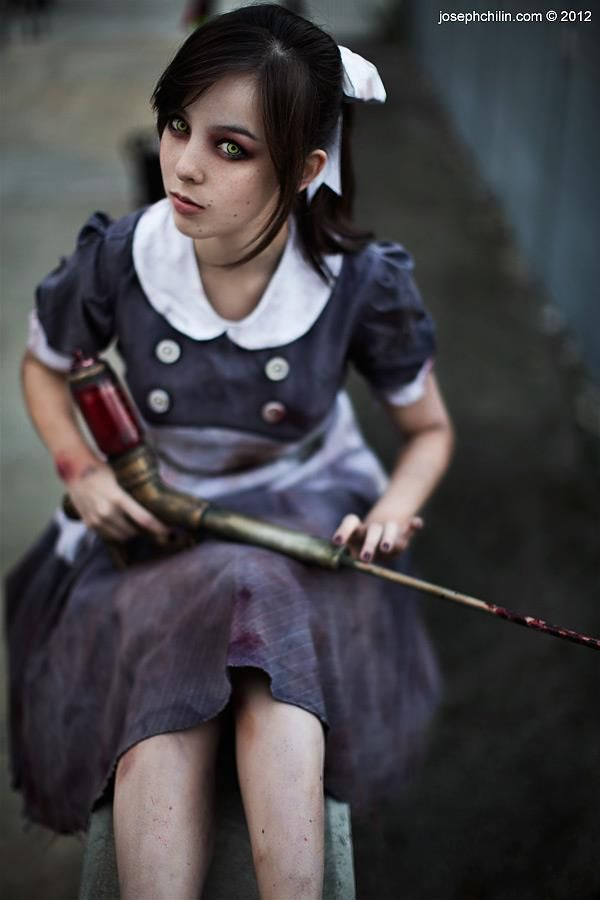 Monika Lee as Little Sister from Bioshock - Photography by Joseph Chi Lin