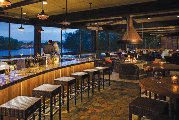 Food with a View: Waterfront Dining Sunrise, sunset or anytime in between, these waterfront eateries offer a feast for the eyes as well as the taste buds.