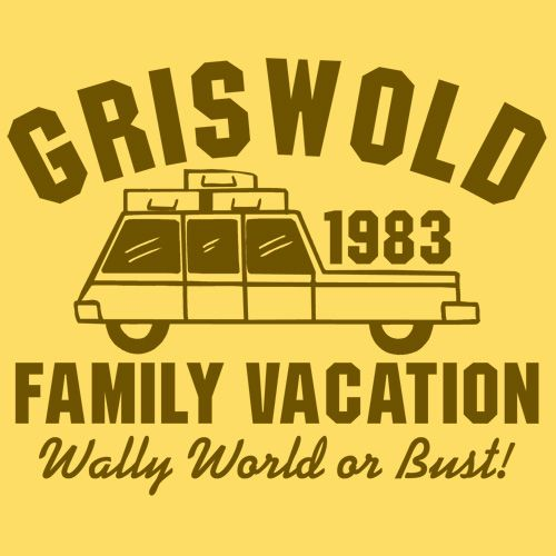 GRISWOLD FAMILY VACATION WALLY WORLD OR BUST FUNNY T-SHIRT