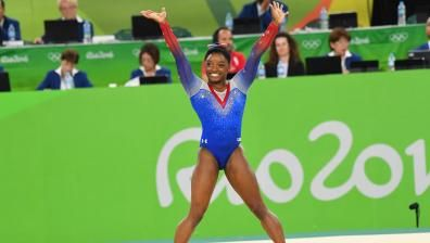 Simone,  who won five Olympic medals in Rio will lead the U.S. athletes into Sunday's Closing Ceremony