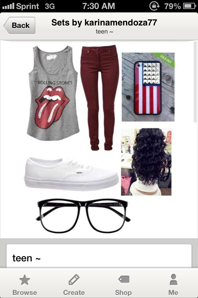 Teenage outfit ~