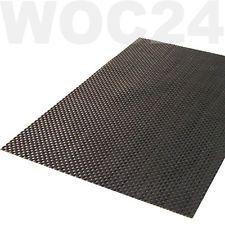 Tischset Platzdeckchen Platzset abwaschbar SILBER-GRAU Kunststoff PVC