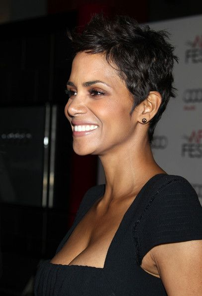 26 best going back to short hair images on pinterest short more pics of halle berry pixie altavistaventures Images