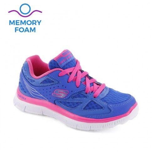 Pantofi sport fete Skech Align Blue - Skechers