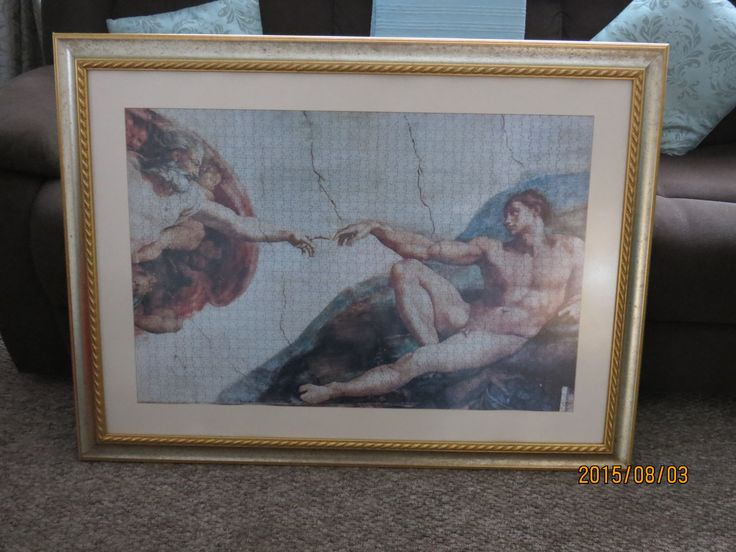Finger of God puzzle 1500 pieces R950.00 - SOLD