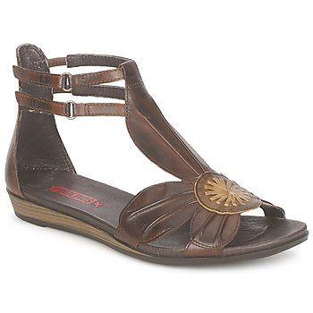 Sandals Pikolinos ALUCDIA FLOWER Brown 350x350