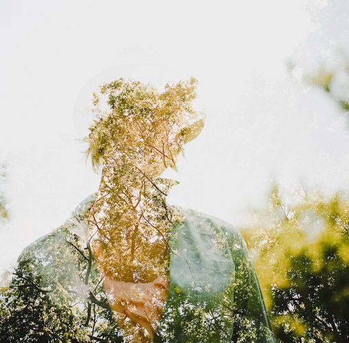 Double exposure... Jon Duenas photography - beautiful !