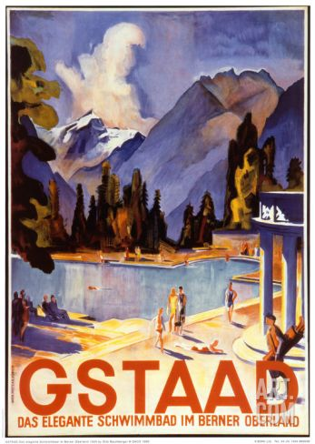 Gstaad Print by Otto Baumberger at Art.co.uk