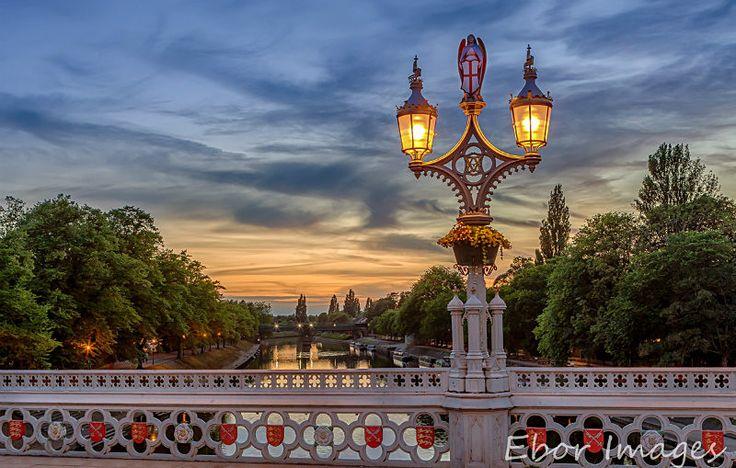 Lendal Bridge Sunset - York  www.eborimages.co.uk