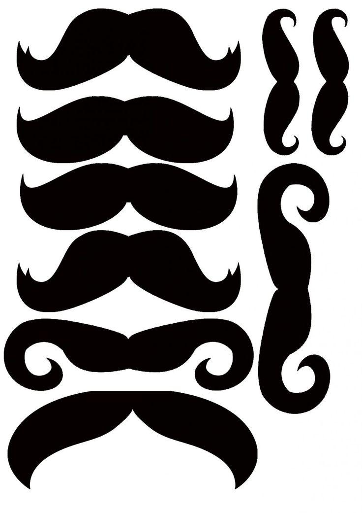 Усы шаблон персонажи для поздравления самцов