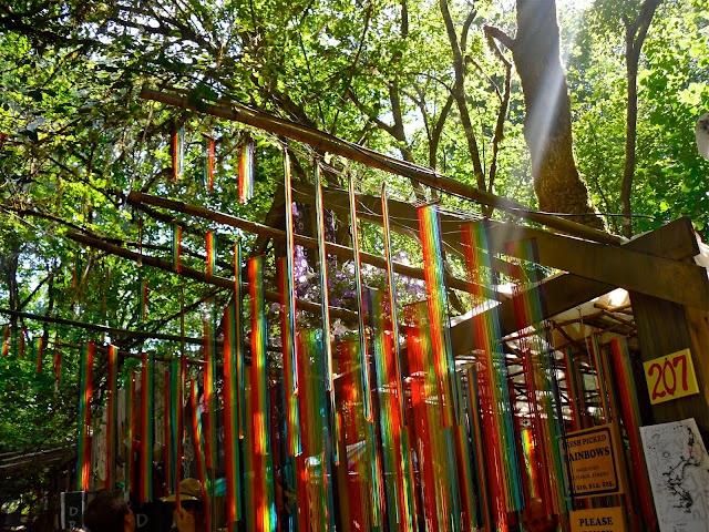 """Fresh Picked Rainbows"" at Oregon Country Fair"