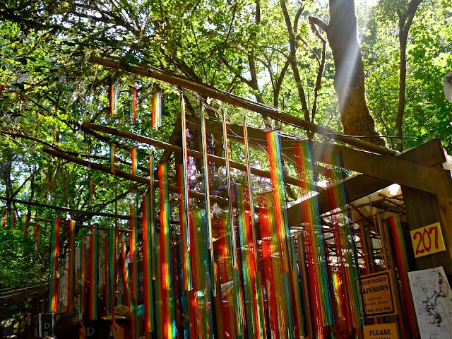 """Fresh Picked Rainbows"" at Oregon Country Fair"