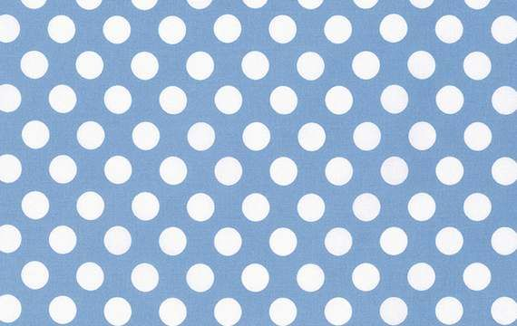Tanya Whelan Sadie's Dance Card Big Dot Blue Fabric | sewandso