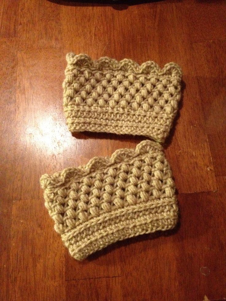 Excepcional Los Patrones De Crochet Puños De Arranque Regalo - Manta ...