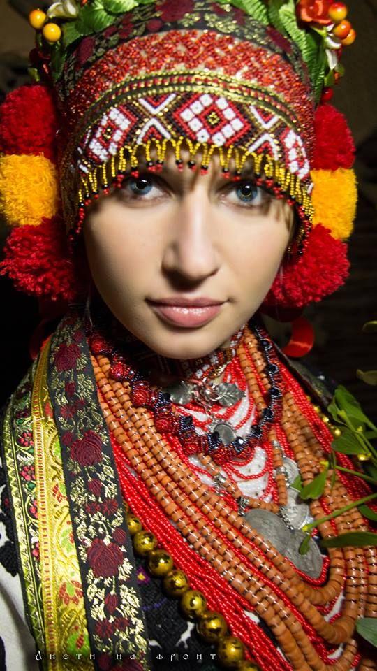 Absolutely gorgeous and amazing Ukrainian national costume