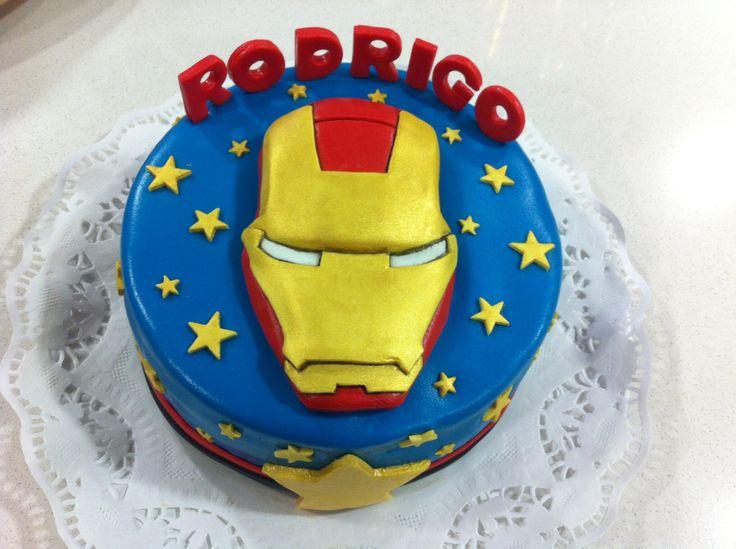Torta Iron Man Nov/2013