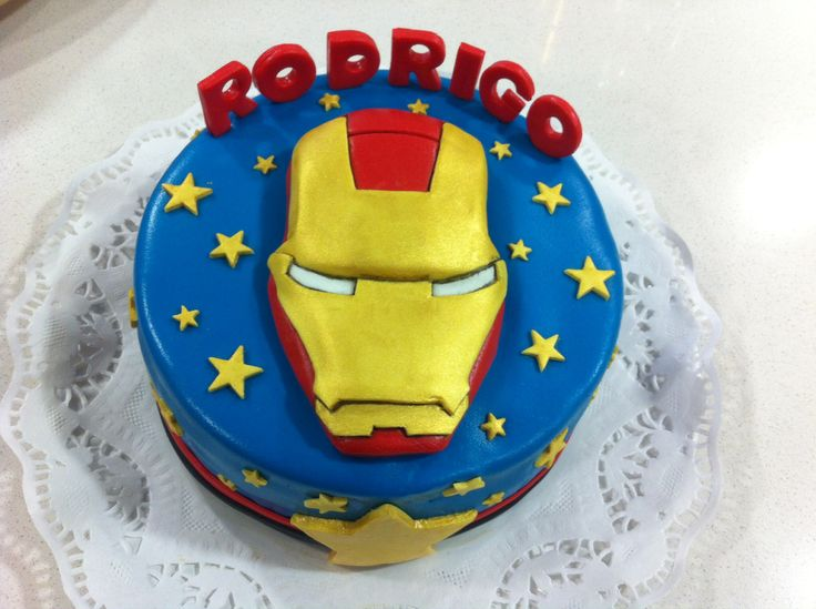 Torta Iron Man Nov/2013