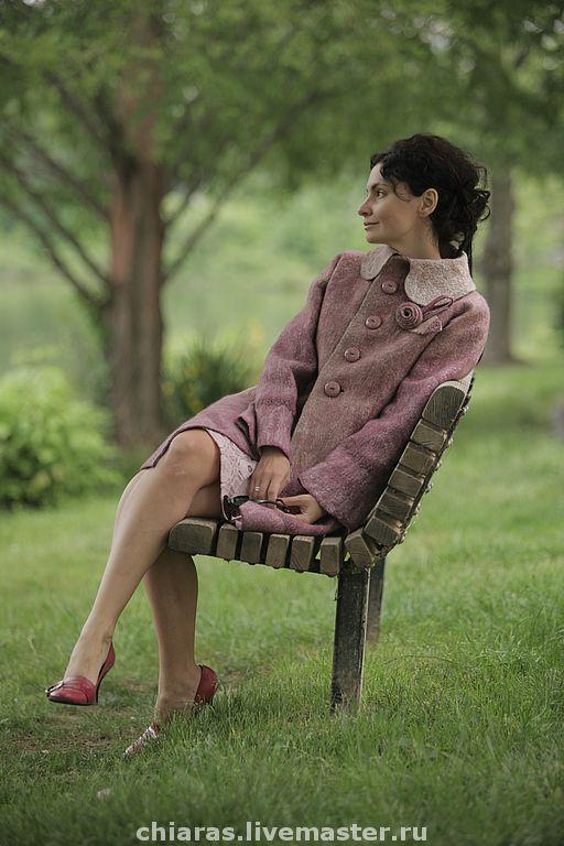 """Купить авторское пальто """"скромное очарование"""" - авторское пальто, в единственном экземпляре, Красивое пальто"""