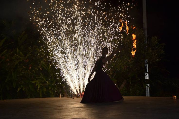 Fire and Dance Show