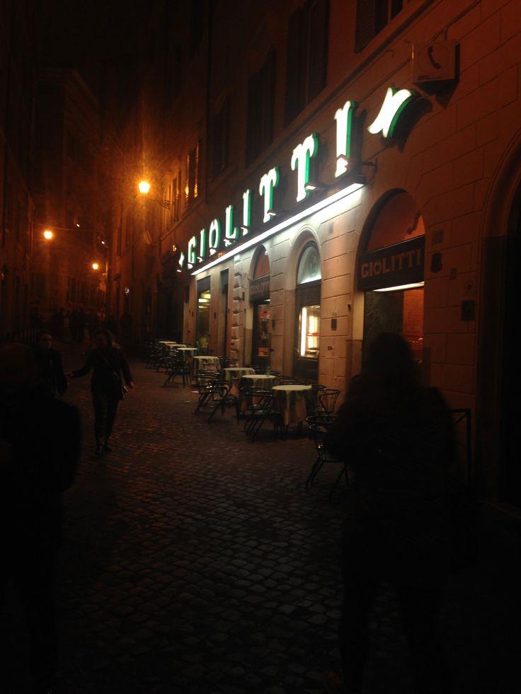 #Giolitti #Gelato #Fragola #Nutella #Roma