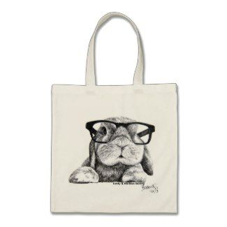 I think that this Tote Rambo Bunny Totes is cute, did think of it too?