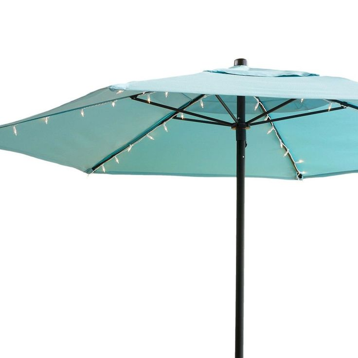 String Lights For Outdoor Umbrella : Best 25+ Umbrella lights ideas on Pinterest Parasols & rain umbrellas, Patio umbrella lights ...