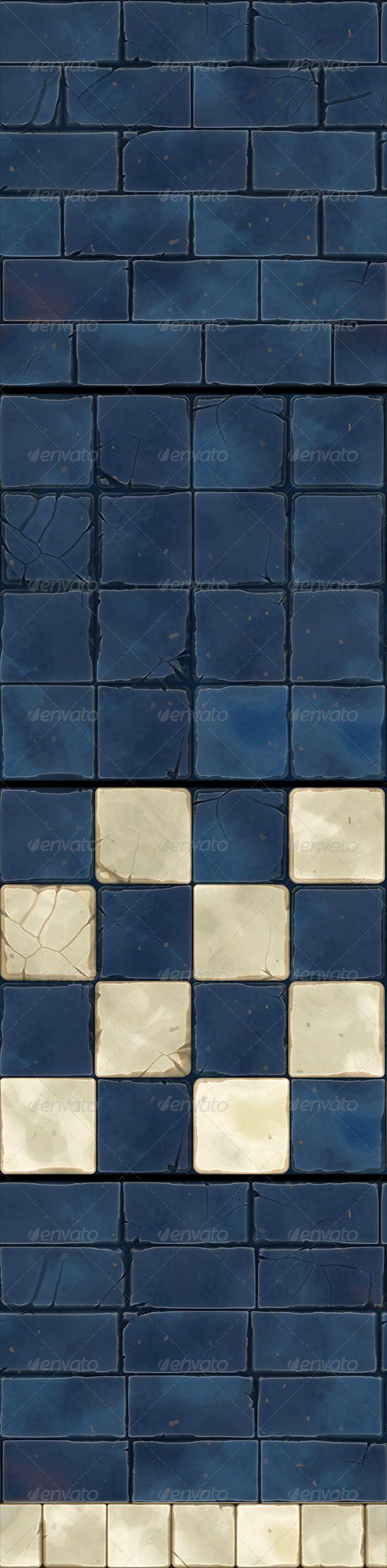 Hand+Painted+Dungeon+Floor+Tiles