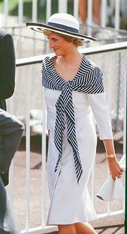 Diana, Princess of Wales attends The Royal Ascot race meeting, on June 14, 1988 in Ascot ,United Kingdom.