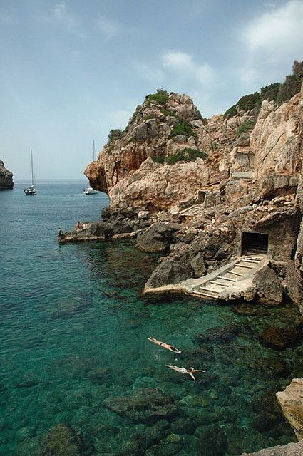 Cala Deià - Mallorca Island, Spain