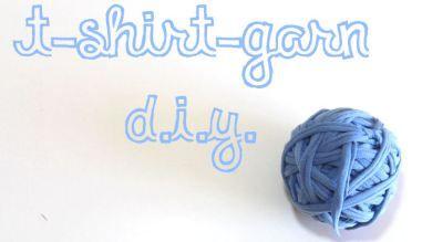 Mehr als zehn Möglichenkeiten ein T-Shirt zu recyceln und was die Wissenschaft damit zu tun hat {DIY-Serie} // T-Shirt Garn herstellen