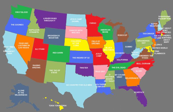 What movie is your state?  True Grit all the way!