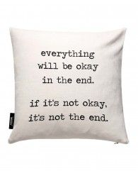 Everything will be okay-JUNIQE Pillows