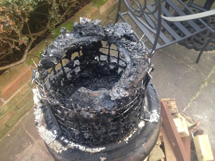 This Is The Result Of Using Wet Wood And Not Having Chimney Swept Regularly StovesSafety