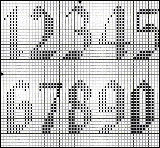 Knitting Pattern Numbers In Brackets : Best 25+ Cross stitch numbers ideas on Pinterest Cross stitch letters, Cros...