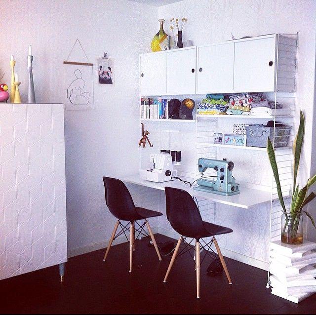 41 best string stue images on pinterest living room for. Black Bedroom Furniture Sets. Home Design Ideas
