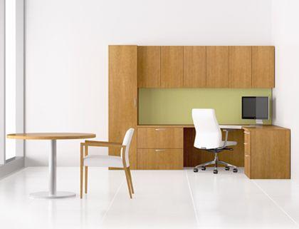 Trio Wood Office Furniture Casegoods Gunlocke