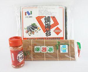 Nico Nori + Sushi Mat Coklat + Bubuk Cabe - Gu Ichini