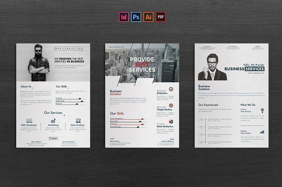Corporate Flyer by Ahsanjaya on @creativemarket
