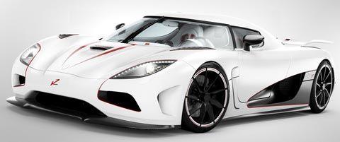#3 Koenigsegg Agera R   Top Speed 260mph. Super Fast CarsAmazing CarsSports  ...