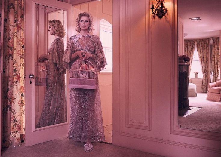 Съемка недели: Ева Герцигова в мартовском Vogue Paris | Kicky magazine