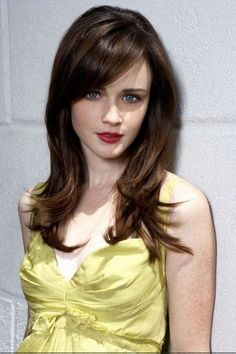 rory gilmore bangs - Google Search                                                                                                                                                     More