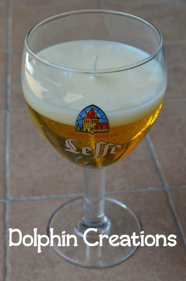 Chi desidera una bella birra fresca stasera? ;) Candela profumata riproducibile! <3