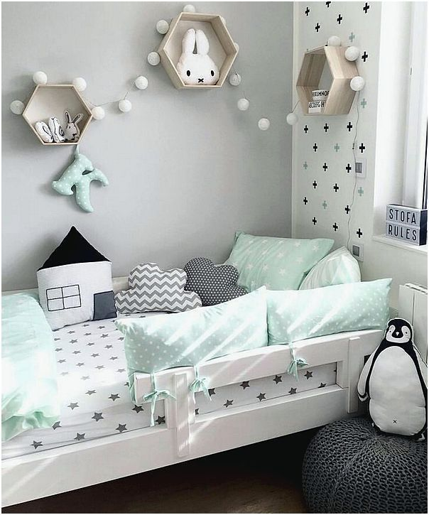 20 Extremely Lovely Neutral Nursery Room Decor Ideas That: Ide Hiasan Kamar Tidur Cantik