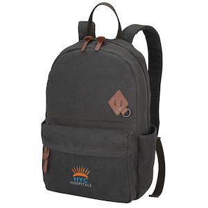 Port Authority Embroidered Urban Backpack with Padded Laptop Sleeve