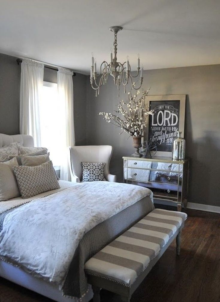 Amazing 59 White and Grey Master Bedroom Decor that Inspire https://toparchitecture.net/2017/12/26/59-white-grey-master-bedroom-decor-inspire/