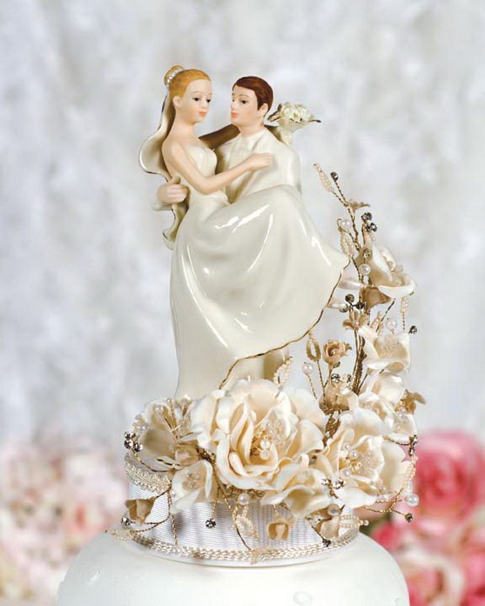 Bride Wedding Cake Topper: Vintage Wedding Cake Toppers Uk