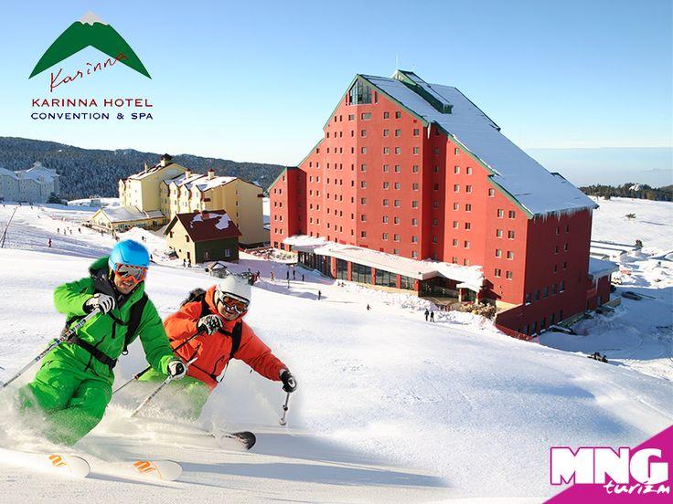 Kendine ait lift ile Uludağ'ın en uzun pistlerine kolayca ulaşım sağlayan Karinna Hotel, eğlence dolu bir kayak tatili sunuyor.