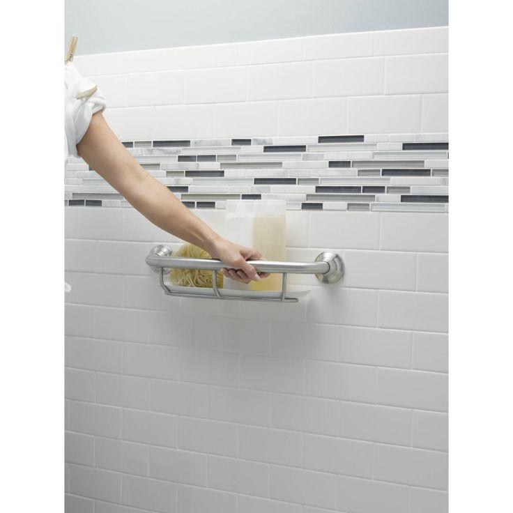 Best AginginPlace Bathroom Remodels Images On Pinterest Grab - Brushed nickel grab bars for bathrooms for bathroom decor ideas