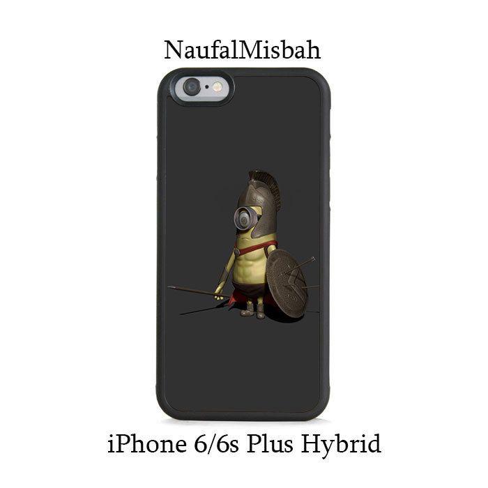 Spartan Despicable Me Minion iPhone 6/6s PLUS HYBRID Case Cover