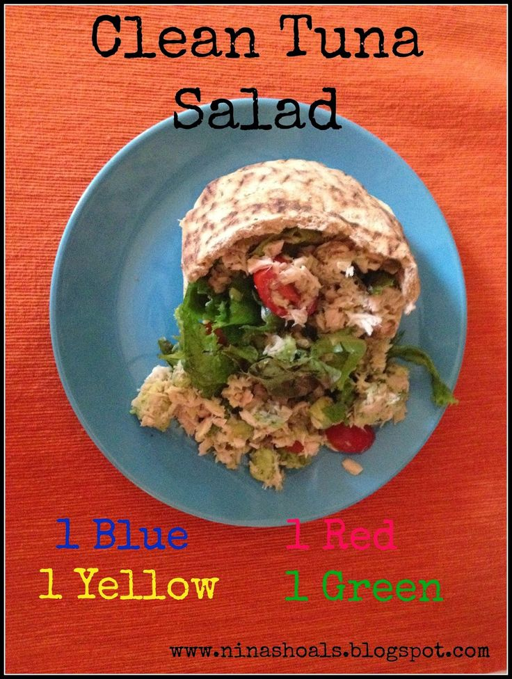Fit Warrior: Clean Tuna Salad 21 day fix approved